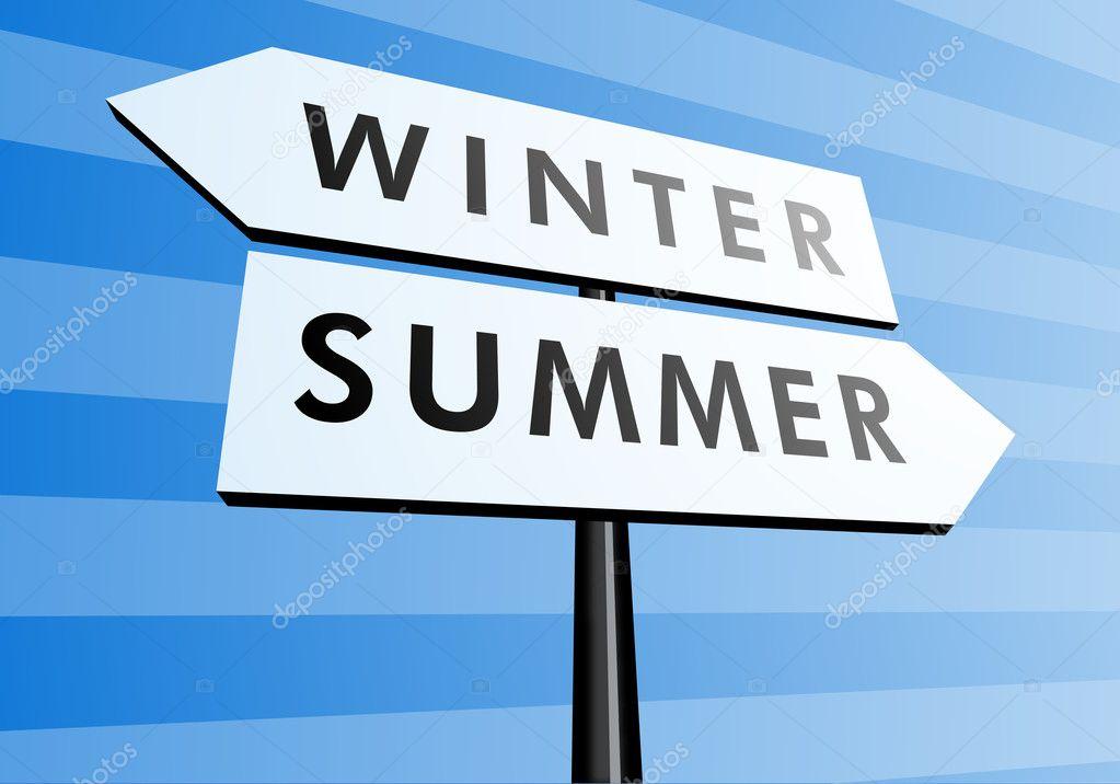 Переход лето зима картинки