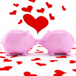Loves in Valentine's day! — Stock Photo #2095468