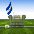 Stock Photo: Honduras soccer fun
