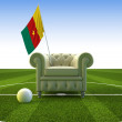 Cameroon soccer fun — Stock Photo #2490485