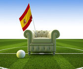 Spain soccer fun — Stock Photo
