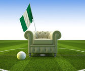 Nigeria soccer fun — Stock Photo