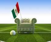 Mexico soccer fun — Stock Photo