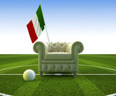 Italy soccer fun — Stock Photo