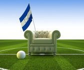 Honduras soccer fun — Stock Photo