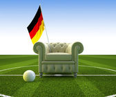 German soccer fun — Stock Photo