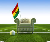 Ghana soccer fun — Stock Photo