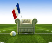 France soccer fun — Stock Photo