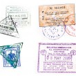 Visa stamp — Stock Photo #2004848