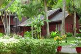 Borneo bungalo — Stock Photo