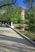 Novodevichiy monastery — Stock Photo