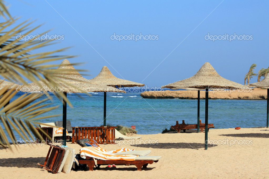 Egypt beach  Stock Photo #2003210