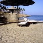 Egypt beach — Stock Photo
