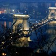 Budapest chainbridge - Stock Photo