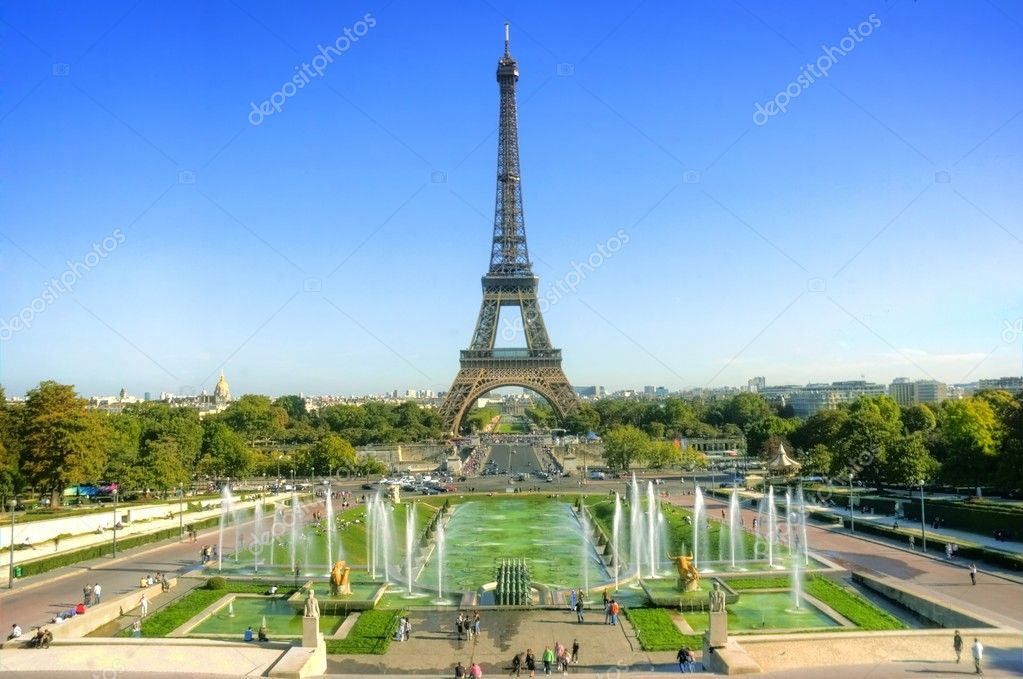 Eiffel tower — Stock Photo #1925972