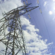 Foto de Stock  : Electricity pylon