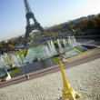 Eiffel tower and miniature — Stock Photo #1981743