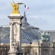 Stock Photo: Alexandre 3 bridge in Paris