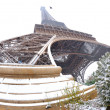 Eiffel tower with snow — Stock Photo #1982995