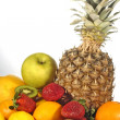 Stock Photo: Composition of fruits