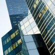 Buildings in buisness district — Stock Photo