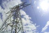 Pilone di energia elettrica — Foto Stock