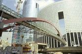 Constructie van een gebouw — Stockfoto