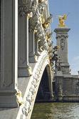 Ponte alexandre 3 em paris — Foto Stock
