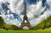 Eiffel tower — Stock fotografie