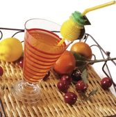 Fruits cocktail — Stock Photo