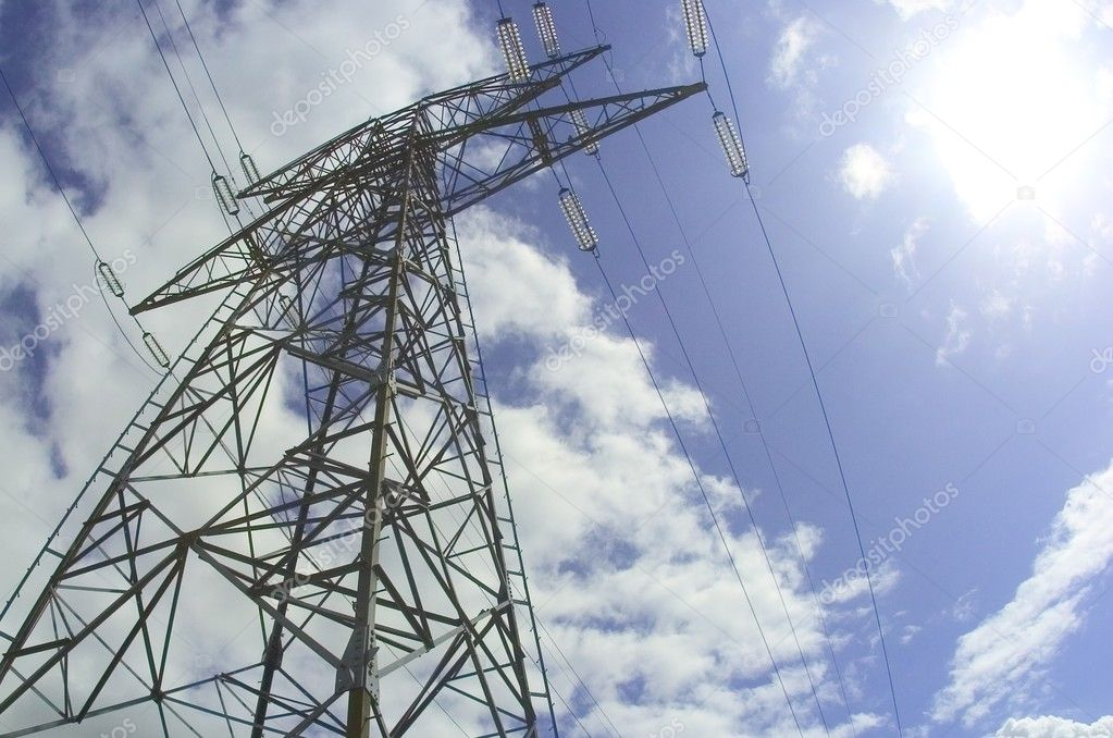 Electricity pylon — Stock Photo #1981216