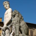 Piazza della Signoria in Florence, Italy — Stock Photo