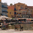 The old Venetian port of Chania - Stock Photo