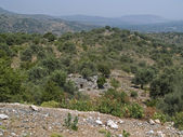 Crete-Imbros gorge — Stock Photo