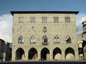 Pistoia - Cathedral Square — Stock Photo