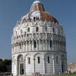Pisa - Baptistery — Stock Photo