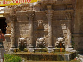Rethymnon - fontein rimondi — Stockfoto