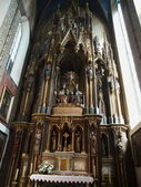 Cracow - The Holy Trinity Church — Stock Photo