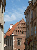 Kanonicza street in old city of Krakow, — Stock Photo