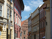 Kanonicza street in old city of Krakow, — Stock Photo