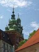 Krakow - Wawel Hill — Stock Photo