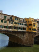 Florence - View of the Ponte Vecchio — Stock Photo
