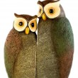 Stock Photo: Family of owls