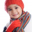 Royalty-Free Stock Photo: Winter kid