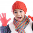Winter kid — Stock Photo #1929091