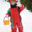 Snow boy — Stock Photo