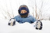 śniegu — Zdjęcie stockowe