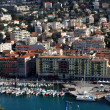 Stock Photo: Nice harbour and city view, France