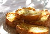 Fresh toasted bread — Stock Photo