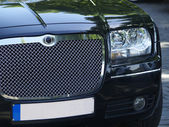 Front detail of limousine — Stock Photo